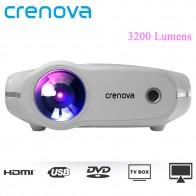 € 75.88 35% de réduction|CRENOVA XPE498 Nouveau Portable Projecteur Pour Full HD 4 k * 2 k 3200 Lumens Home Cinéma Film Beamer Android 7.1.2OS Proyector dans Projecteurs Home Cinéma de Electronique sur AliExpress.com | Alibaba Group