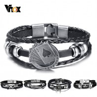 US $1.95 61% OFF|Vnox Lucky Vintage Men