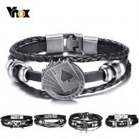 US $1.95 61% OFF|Vnox Lucky Vintage Men