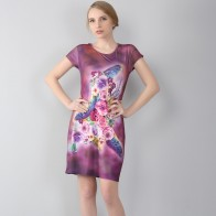 703.32 руб. 14% СКИДКА|Для женщин Красивые Платья для женщин одеждамодные Большие размеры большие размеры 7XL стерео печати летнее платье Для женщин цельнокроеное платье купить на AliExpress