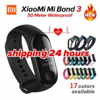 1315.4 руб. 22% СКИДКА|В наличии Xiao mi Band 3 mi band 3 фитнес трекер монитор сердечного ритма 0,78