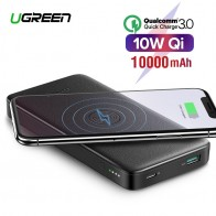 US $25.99 30% OFF|Ugreen Quick Charge3.0 Power Bank 10000mAh Portable 10W Qi Wireless Charger Power Bank for Xiaomi Fast Wireless External Battery-in Power Bank from Cellphones & Telecommunications on Aliexpress.com | Alibaba Group