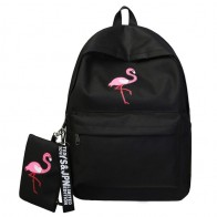 US $10.68 51% OFF|Backpacks Brand Women Simple Flamingo Printing Backpack For Teenage Girls Laptop School Bags Mochila 2019-in Backpacks from Luggage & Bags on Aliexpress.com | Alibaba Group