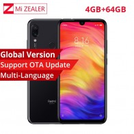 US $179.99 20% OFF|Global Version Xiaomi Redmi Note 7 4GB 64GB Mobile Phone Snapdragon 660 Octa Core 4000mAh 48MP 5MP Dual Cameras 6.3