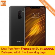 US $293.99 |Global Version Xiaomi POCOPHONE F1 6GB 64GB Mobile Phone Snapdragon 845 Octa Core 6.18