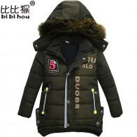 1104.49 руб. 32% СКИДКА|Bibihou/Новая парка для мальчиков, зимний комбинезон, детские куртки, теплая одежда для мальчиков, детский толстый хлопковый пуховик, зимнее пальто, верхняя одежда-in Пальто и парки from Мать и ребенок on Aliexpress.com | Alibaba Group