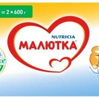 Купить Смесь Малютка (Nutricia) 3 (с 12 месяцев) 1200 г по низкой цене с доставкой из маркетплейса Беру
