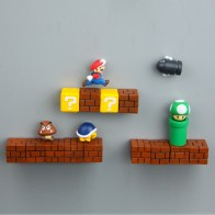US $0.75 25% OFF|Super Mario DIY Fridge Refrigerator Magnet TV FC Childhood Game Japan Cartoon Gaming Cartoon 3D Ice Box Paster Icebox Sticker-in Fridge Magnets from Home & Garden on Aliexpress.com | Alibaba Group