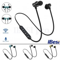 US $1.73 13% OFF|IBESI XT11 Wireless Headphone Magnetic Bluetooth Earphone Neckband Sport Bass Headset Handsfree Earbuds with Mic for Phone-in Bluetooth Earphones & Headphones from Consumer Electronics on Aliexpress.com | Alibaba Group