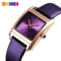 US $13.49 46% OFF|SKMEI Womens Watches Top Brand Luxury Leather Quartz Watch Women Fashion Dress Ladies Wrist Watch Female Reloj montre femme 2018-in Women