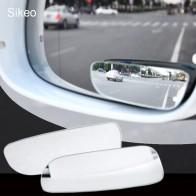 93.26 руб. 10% СКИДКА|2 шт. Автомобильное Зеркало для слепых зон 360 градусов регулируемое широкоугольное выпуклое зеркало заднего вида автомобиля парковочное зеркало заднего вида круглое длинное купить на AliExpress