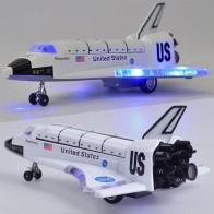US $10.77 32% OFF|LeadingStar 8 Inch Alloy Force Control Space Shuttle Model with Light & Sound Toy Plane Gift Ornament-in Diecasts & Toy Vehicles from Toys & Hobbies on AliExpress