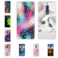 US $1.35 15% OFF|لنوكيا 5 3 6 8 حالة 3D نمط ل Nokia5 Nokia3 Nokia6 Nokia8 حالة الغطاء الخلفي لينة TPU سيليكون لنوكيا 3 5 6 8 جراب هاتف-في علب جاهزة من الهواتف المحمولة ووسائل الاتصالات على Aliexpress.com | مجموعة Alibaba