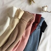 572.53руб. 53% СКИДКА|Осень зима 2019, толстый свитер для женщин, ВЯЗАННЫЙ ПУЛОВЕР в рубчик, свитер с длинным рукавом, водолазка, тонкий джемпер, мягкий теплый пуловер для женщин-in Пуловеры from Женская одежда on AliExpress - 11.11_Double 11_Singles