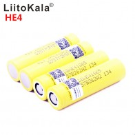 147.79 руб. 24% СКИДКА|LiitoKala для HE4 18650 аккумуляторная батарея li lon 3,6 V 2500 mAh батарея может держать, Макс 20A, 35A разрядка для электронной сигареты-in Подзаряжаемые батареи from Бытовая электроника on Aliexpress.com | Alibaba Group