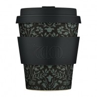 "Стакан с крышкой и держателем ""Walthamstow"", 250 мл бренда Ecoffee - Чай - Black edition"