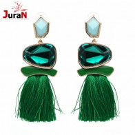 US $1.63 40% OFF|JURAN 2019 New Fringed Statement Earrings Wedding Tassel Multicolored Hot Fashion STUD Earrings Jewelry Women Brinco Christmas-in Stud Earrings from Jewelry & Accessories on Aliexpress.com | Alibaba Group