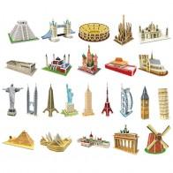 55.59 руб. 40% СКИДКА|3d игра головоломка Diy Бумажная размерная модель собранная Головоломка Развивающие игрушки для детей Взрослые головоломки детские игрушки купить на AliExpress