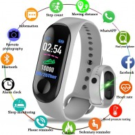 521.82 руб. 70% СКИДКА|2019 умный спортивный браслет кровяное давление монитор сердечного ритма Шагомер Смарт часы для мужчин для Android iOS-in Смарт-браслеты from Бытовая электроника on Aliexpress.com | Alibaba Group