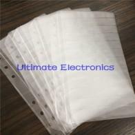 100 шт./лот пустые страницы для компонентов книги образцов 0402/0603/0805/1206 SMD электронные компоненты ассорти - ali electro