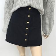 US $3.59 35% OFF|Denim Skirt Spring Summer Women Short A line Buttom Skirts High Waist Slim Pocket Clothes For Female Causal Summer Women Skirt-in Skirts from Women