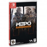 Nintendo Switch игра Deep Silver Метро 2033: Возвращение