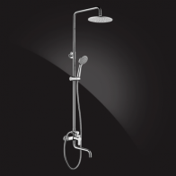 Купить Душевая система Elghansa SHOWER SET 2306683-2L (Set-14) , хром в Ульяновске - Душевые стойки, гарнитуры, панели