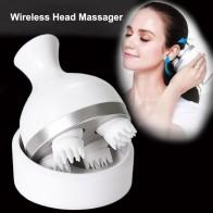 1570.7руб. 27% СКИДКА|Водонепроницаемый Электрический массажер для головы, беспроводной массажер для кожи головы, предотвращающий выпадение волос, глубокое разминание тканей, вибрирующий, забота о здоровье, Новинка-in Массаж и расслабление from Красота и здоровье on AliExpress