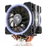 1362.33 руб. 30% СКИДКА|Универсальный RGB компьютер Процессор Вентилятор Cooler 4Pin Процессор вентиляторы для Интер 775/1151/1155/1156 радиатор 4/6 Heatpipe Процессор вентилятор для AMD купить на AliExpress