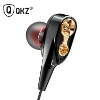 US $5.37 50% OFF|QKZ CK8 Dual Driver Earphones audifonos Stereo Bass Sport Running Headset HIFI Monitor Earbuds Handsfree With Mic fone de ouvido-in Phone Earphones & Headphones from Consumer Electronics on Aliexpress.com | Alibaba Group