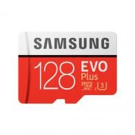 Карта памяти microSDHC 128Gb EVO Plus с адаптером Class 10,UHS-I, Samsung