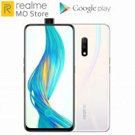 Smartphone Original Realme x 4G LTE 4GB RAM 64GB ROM Snapdragon 710 Octa Core 6.53 pouces 3765 mAh Google Play Store téléphone portable on AliExpress