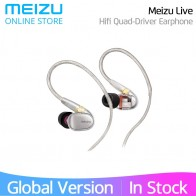 US $136.99 |Meizu Live Earphone Quad Driver in Ear Dual Channel Knowles Balanced Armature Hi Res Certificated with remote control microphone-in Phone Earphones & Headphones from Consumer Electronics on Aliexpress.com | Alibaba Group