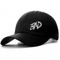 US $7.99 |Dropshipping XXXTENTACION BAD  Cap Cotton Baseball Cap For Men Women Adjustable Hip Hop Dad Hat Bone Snapback Garros -in Men
