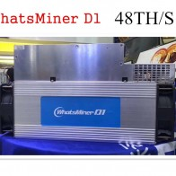133457.87 руб. |Новые Asic DCR Шахтер WhatsMiner D1 48TH/S с БП лучше чем Antminer DR3 Z9 мини S9 S9j Innosilicon A9 FFMINER-in Блок-чейн/майнер from Компьютер и офис on Aliexpress.com | Alibaba Group