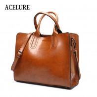 1014.42 руб. 49% СКИДКА|ACELURE кожаные сумки Большая женская сумка Высокое качество повседневные женские сумки багажник сумка испанская брендовая сумка на плечо женская большая сумка-in Сумки с ручками from Багаж и сумки on Aliexpress.com | Alibaba Group