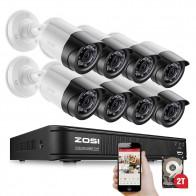 12876.71 руб. 49% СКИДКА|ZOSI 8CH 1080 P TVI ночного видения Водонепроницаемая пуля HDD жесткий диск камера видеонаблюдения DVR комплект системы видеонаблюдения-in Система наблюдения from Безопасность и защита on Aliexpress.com | Alibaba Group