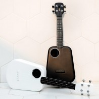 Populele 2 LED Bluetooth USB Smart Ukulele 18 Tooth Closed Button Toy Musical Instrument Ukulele APP Control 2019-in Toy Musical Instrument from Toys & Hobbies on AliExpress