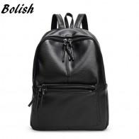 843.84 руб. 50% СКИДКА|Новый рюкзак для путешествий, корейский женский рюкзак для отдыха, Студенческая школьная сумка, мягкая женская сумка из искусственной кожи-in Рюкзаки from Багаж и сумки on Aliexpress.com | Alibaba Group
