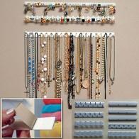 € 1.71 5% de DESCUENTO|9 piezas adhesivo de ganchos de montaje en pared soporte de almacenamiento organizador del soporte de exhibición-in Envase y exposición de joyería from Joyería y accesorios on Aliexpress.com | Alibaba Group
