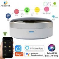 Универсальный ИК-умный пульт дистанционного управления WiFi + инфракрасный домашний контроль концентратор Tuya приложение работает с Google Assistant... - المنزل الذكي