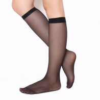 US $1.29 20% OFF|Skritts 1pair/3Pairs Summer Lady Solid Nylon Stockings Fashion Woman Transparent Stockings for Summer Knee Highs Socks Hosiery-in Stockings from Underwear & Sleepwears on Aliexpress.com | Alibaba Group