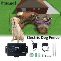 2230.11руб. 46% СКИДКА|023 безопасный Электрический забор для собак, Водонепроницаемый Электронный тренировочный ошейник для собак, зарытое электрическое ограждение для собак-in Ошейник для дрессировки from Дом и животные on AliExpress