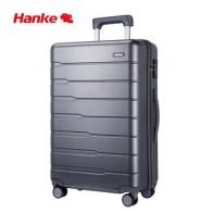 Чехол для костюма Hanke из чистого поликарбоната для мужчин и женщин, чемодан для путешествий, чехол на колесиках, чемодан на колесиках, Спинне...