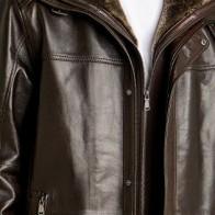Мужская кожаная куртка Derimod ME-5637251957 - Мужские кожаные куртки