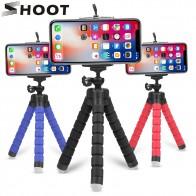 64.76 руб. 25% СКИДКА|Съемка мини Гибкая Губка Осьминог штатив для iPhone samsung Xiaomi huawei мобильный телефон тренога для смартфонов для Gopro 7 6 5 камера-in Штативы from Бытовая электроника on Aliexpress.com | Alibaba Group