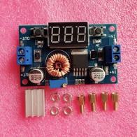 118.36 руб. 5% СКИДКА|1 шт. XL4015 5A высокое мощность 75 Вт DC DC Регулируемый понижающий модуль + светодиодный вольтметр питание модуль-in Интегральные схемы from Электронные компоненты и принадлежности on Aliexpress.com | Alibaba Group