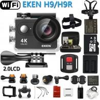 2234.66 руб. 20% СКИДКА|Оригинальная экшн камера H9 / H9R  со сверхвысоким разрешением Ultra HD, 4K  WiFi с дистанционным управлением, go профессиональная водонепроницаемая pro видеокамера для занятий спортом,  DVR(устройство цифровой записи) купить на AliExpress
