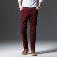 721.86 руб. 40% СКИДКА|2019 осень и зима новый для мужчин бутик хлопок сплошной цвет Мода Вышивка Бизнес повседневные штаны вельвет узкие брюки-in Повседневные брюки from Мужская одежда on Aliexpress.com | Alibaba Group