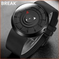 US $17.88 35% OFF|BREAK Minimalist Luxury Brand Watch Men Women Black Waterproof Fashion Casual Military Quartz Sports Watches-in Quartz Watches from Watches on Aliexpress.com | Alibaba Group